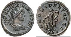 AR/AE Aurelianus. Roman Coin, Roman Empire, Numerianus 283-284 AD, Ticinum mint. 3,32g. RIC V/2, 199, 447. EF. Price realized 2011: 95 USD.