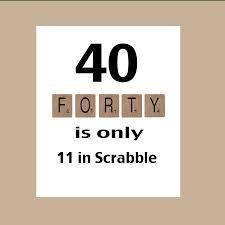 40th Birthday Card Male
