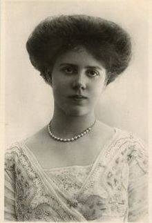 Princess Maud, Countess of Southesk - as a teenager, daughter of Louse Princess Royal, Duchess of Fife and grandaughter of Edward VII and Alexandra.