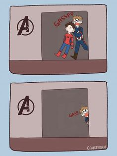 (Thorki) from the story Shipps Marvel (Imagenes & Comics) by Mrmiau-HMR (Jüda) with reads. Spideypool, Superfamily Avengers, Stony Superfamily, Avengers Comics, Avengers Memes, Archie Comics, Funny Marvel Memes, Marvel Jokes, Funny Comics