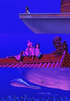 Beautiful scenes from Aladdin