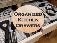 No-Fail Kitchen Drawer Organization! {Dollar Tree}