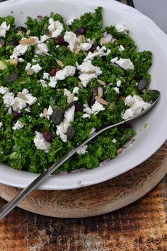 The Recipe Suitcase: Savoury Wednesday: Gesunder Winter-Salat mit Apfel, Feta und Cranberries