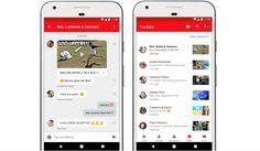 يضيف يوتيوب ميزة الرسائل داخل التطبيق لمشاركة مقاطع الفيديو والدردشة معها