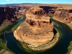 Horseshoe Bend jigsaw puzzle in Great Sightings puzzles on TheJigsawPuzzles.com