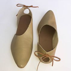 Items similar to Rilee ~ Modern & minimal asymmetrical side cut women's shoes with bow tie ~ Olive green leather ~ Sizes on Etsy Hot Shoes, Women's Shoes, Baby Shoes, Trendy Womens Shoes, Shoe Zone, Business Casual Outfits For Work, Leopard Shoes, Clearance Shoes, Mules Shoes