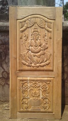 Single Main Door Design Entrance 37 Ideas For 2019 Home Door Design, Pooja Room Door Design, Door Gate Design, Door Design Interior, Wooden Front Door Design, Wooden Front Doors, Wood Doors, Single Main Door Designs, Modern Wooden Doors