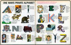 One Man's Private Alphabet, 1971