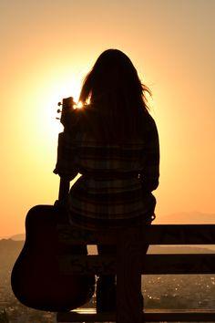 Lonely, Silhouette, Park, World, Music, Musica, Musik, Parks, Muziek