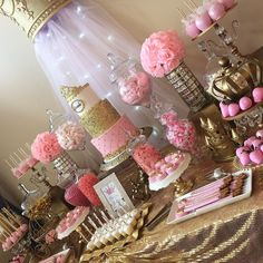 "443 Likes, 2 Comments - Sweet Tooth Candy Buffets © (@swttoothbuffets) on Instagram: ""Royal Princess Babyshower!  Thank you for having us Melissa!! Looking forward to your next event…"""
