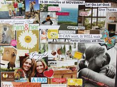 How to Make a VisionBoard - Lexie's Kitchen   Gluten-Free Dairy-Free Egg-Free -
