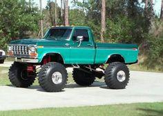 Badass Ford Hi-boy 1979 Ford Truck, Ford 4x4, Ford Pickup Trucks, 4x4 Trucks, Cool Trucks, Chevy Trucks, Lifted Trucks, Mudding Trucks, Lifted Dually