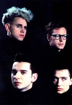 Depeche Mode ~ love this band back in the 80's. They have to have Alan Wilder back.