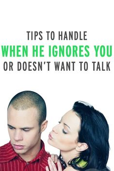 Relationship experts' tips on how to handle when your partner doesn't want to talk or ignores you (great insights for so many!)