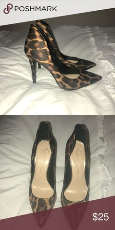 Jessica Simpson Leopard Pumps Jessica Simpson Leopard Pumps Jessica Simpson Shoes Heels