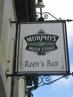 Our Family Bar. Berrings, County Cork, Ireland