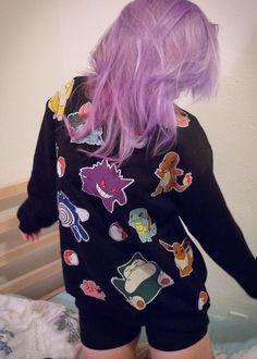 Pokemon applique sweatshirt