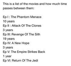 Is this legit? I had no idea so much time had passed between the original trilogies' movies.