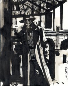 pixoholic: Golden Age Sandman by John Paul Leon - The Bristol Board