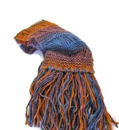 Autumn Colors Scarf Hand Knit Scarf Knit Scarf by ArlenesBoutique #scarf #knitscarf