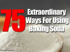 The other day we shared – 7 Ways For Using Amazing Baking Soda In The Garden which many people enjoyed and liked. Baking soda is such a basic must have in the home item. Use it for: A face and body scrub Relieve insect bite itch, irritations and sunburn pain Strong odors from hands by …