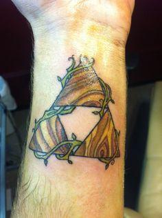 Best triforce tattoo I've ever seen!