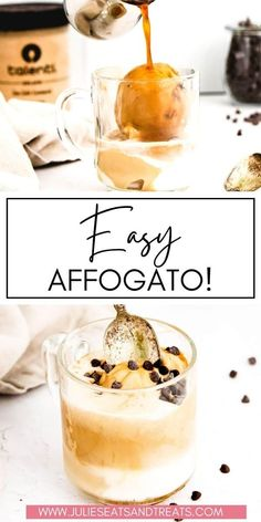 Learn how to make an Affogato at home! It's so easy with only two ingredients required. A scoop of gelato topped with freshly brewed espresso. We have tips and tricks to make so many delicious flavors… More