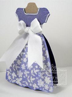 Princess Dress Card Template...