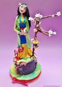 Princess MULAN by marytpg (6/14/2013) View details here: http://cakesdecor.com/cakes/67664