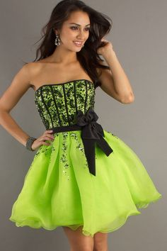 Bright Neon Prom Dresses  Party-Time-Prom-6008-1-Multi-Length ...