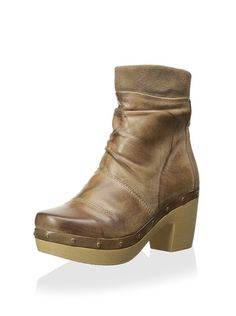 Antelope Women's Wood Clog Ankle Boot at MYHABIT