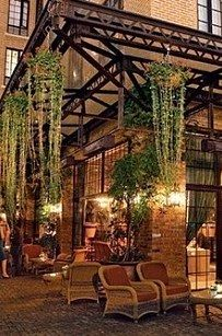 2. The lobby at the Bowery Hotel, Lower East Side: | Here's Where All The Hot People In NYC Hang Out