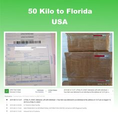 Shipping 50 kilos using EMS Package Delivery, Florida Usa, Ems, 50th, Packaging, Wrapping, Emergency Medicine