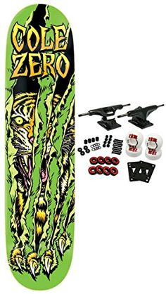 Great ZERO Skateboard Complete COLE SURVIVAL 7.625 - http://kcmquickreport.com/great-zero-skateboard-complete-cole-survival-7-625/