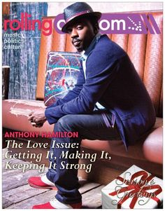 Anthony Hamilton covers rollingout.com