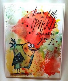 Bird Crazy Sparkle by jacqueline - Cards and Paper Crafts at Splitcoaststampers
