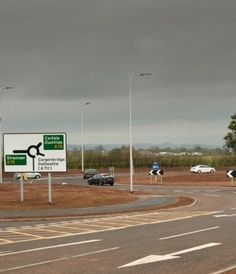 Balfour Beatty recently completed the upgrade of the Garroch roundabout on the A75 in Dumfries, seven weeks ahead of schedule.