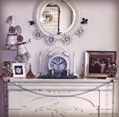 American Honey Home: Winter Decor New Years 2016, Honey, American, Winter, Home Decor, Winter Time, Decoration Home, Room Decor, Home Interior Design