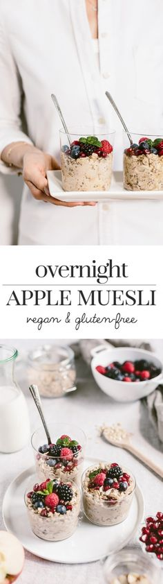 Overnight Apple Muesli