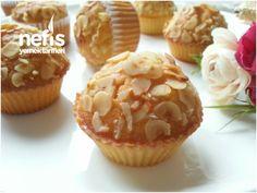 Portakallı Yumuşacık Muffin Milkshake Recipes, Turkish Recipes, Muffin Recipes, Frozen Yogurt, Mini Cakes, Cake Cookies, Cupcakes, Muffins, Orange