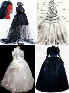 Goth and Gothic Lolita crazy wedding gowns. Long Victorian dresses with feathers, veil, corset and petticoat. Rococo Fashion, Lolita Fashion, Gothic Gowns, Victorian Dresses, Punk Dress, Bridal Gowns, Wedding Dresses, Medieval Fashion, Alternative Fashion