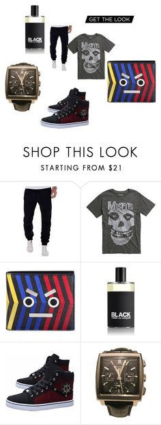 """get the look"" by anelia-georgieva on Polyvore featuring Fendi, Comme des Garçons, TAG Heuer, men's fashion and menswear"