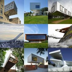 New Pinterest board:  cantilevers
