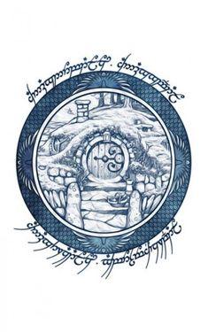 Hobbit door by on Le Hobbit Thorin, Hobbit Door, Hobbit Art, The Hobbit, Gandalf, Hobbit Tattoo, Tolkien Tattoo, Lotr Tattoo, Jrr Tolkien