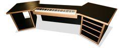 KK Audio. Customizable Keyboard desks.