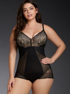 Our plus size lingerie & intimates are fit and designed for real women. We carry cute & sexy lingerie that's designed to flatter every BODY in sizes Spanx Bodysuit, Lace Bodysuit, Curvy Girl Lingerie, Plus Size Lingerie, Sexy Lingerie, Funny Fashion, Knit Leggings, Shapewear, One Piece