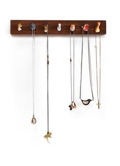 Pack Rack™ Animal Head Jewelry Holder - $58