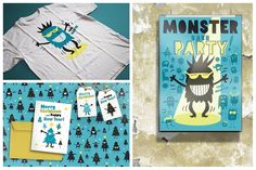 The Little Monsters Creator - Ai/Ps by Mammoth! on @creativemarket