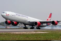 Virgin Atlantic Airbus A340-642 aircraft picture