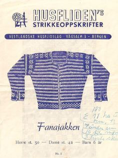 Husfliden 2 Fanajakken  If you are a Knitting Lover, check out this Knitting collection, you may like it :)  https://etsytshirt.com/knitting  #knitting #knittinglovers #iloveknitting